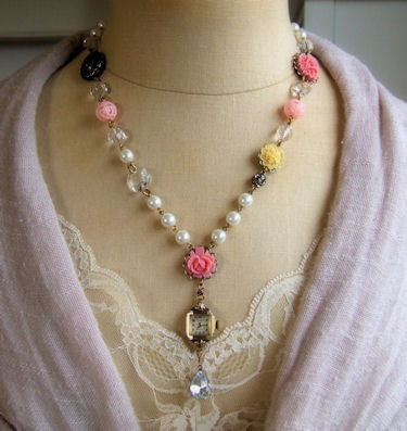Timeless Rose Garden Necklace