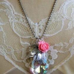 Whimsical Tea Party Necklace